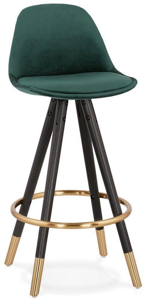 Kokoon design - stołek barowy carry mini, ciemnozielony