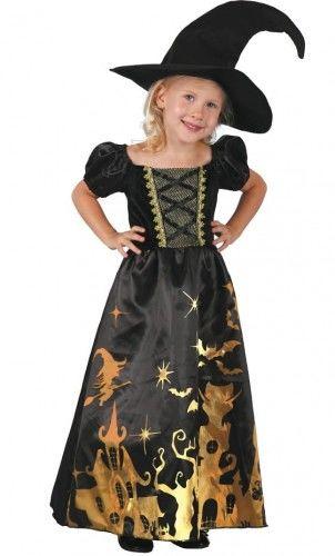 Kostium Mała Czarownica w magicznej sukni