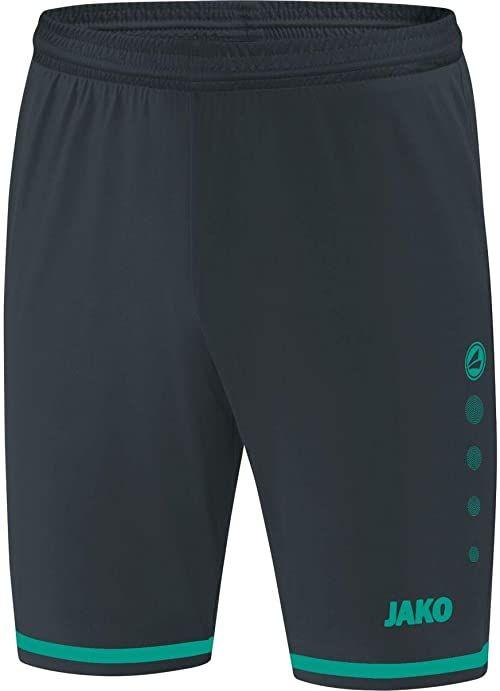 JAKO Striker 2.0 męskie spodnie sportowe szary antracytowy/turkusowy L