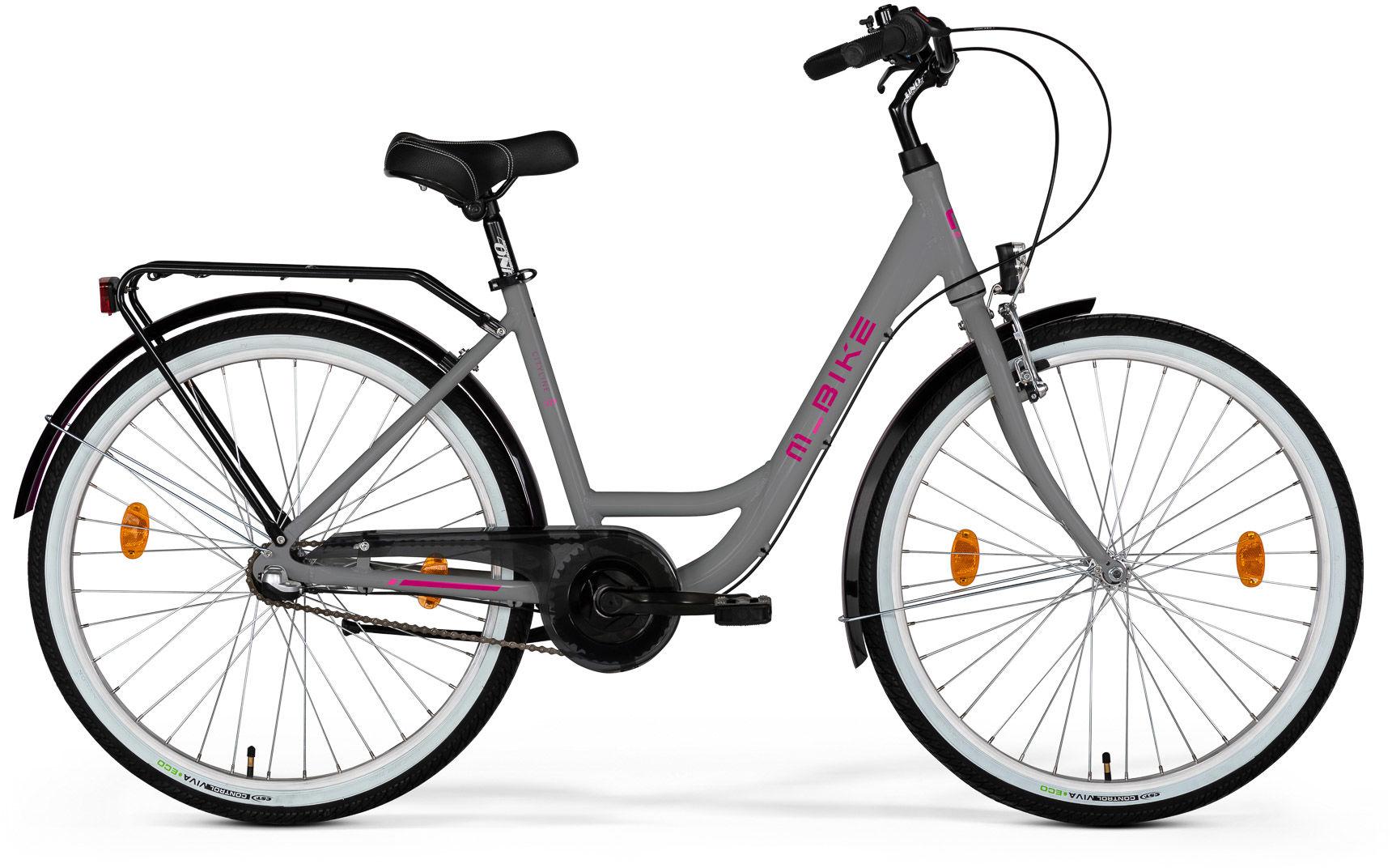 """Rower M_Bike CITYLINE 328 szary 28"""" 2021"""