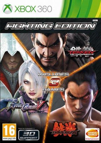 Fighting Edition (T6, TTT2, SCV) X360 ALLPLAY