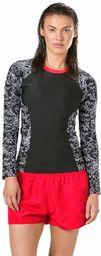 Speedo Damski strój kąpielowy Boom Allover czarny czarno-biały S