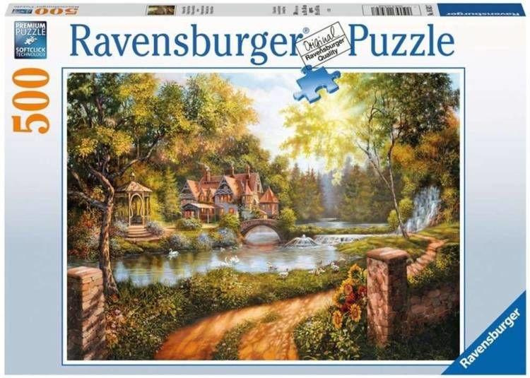 Puzzle 500 Domek - Ravensburger