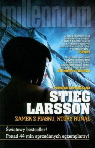 ZAMEK Z PIASKU KTÓRY RUNĄŁ Stieg Larsson