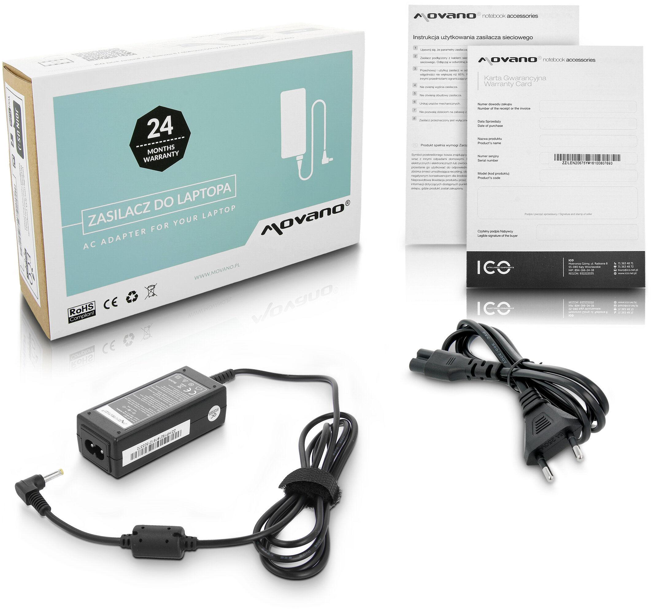 Zasilacz ładowarka ZZ/HP1921 do Compaq Mini 700 PC 700ED 700EF
