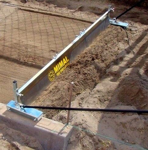 Listwa zgarniająca LZ3 regulowana 150/260cm