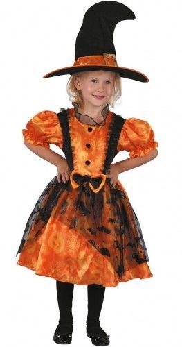 Kostium Mała Pomarańczowa Czarownica