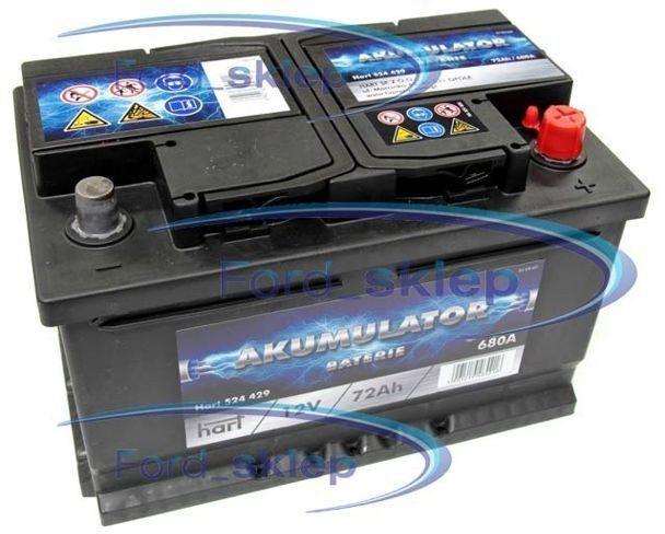 akumulator Hart - 72AH 680A