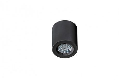 Plafon Nano round AZ2785 AZzardo okrągła oprawa w kolorze czarnym