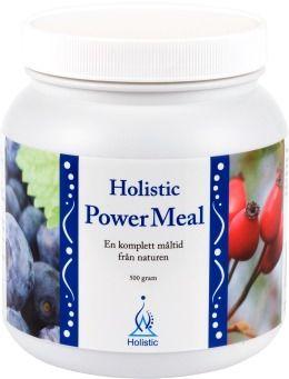 Power Meal Pokrzywa Chlorella Cynamon Dzika Róża Lukrecja Borówka Holistic 500g