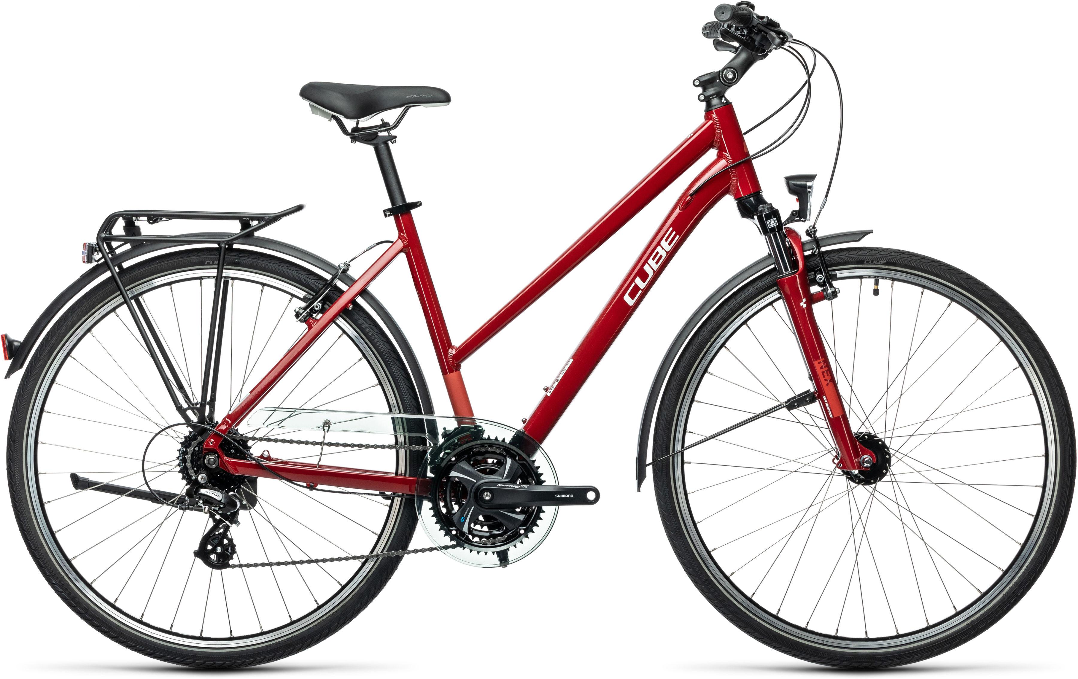 Rower Cube TOURING LADY T czerwony 28 2021