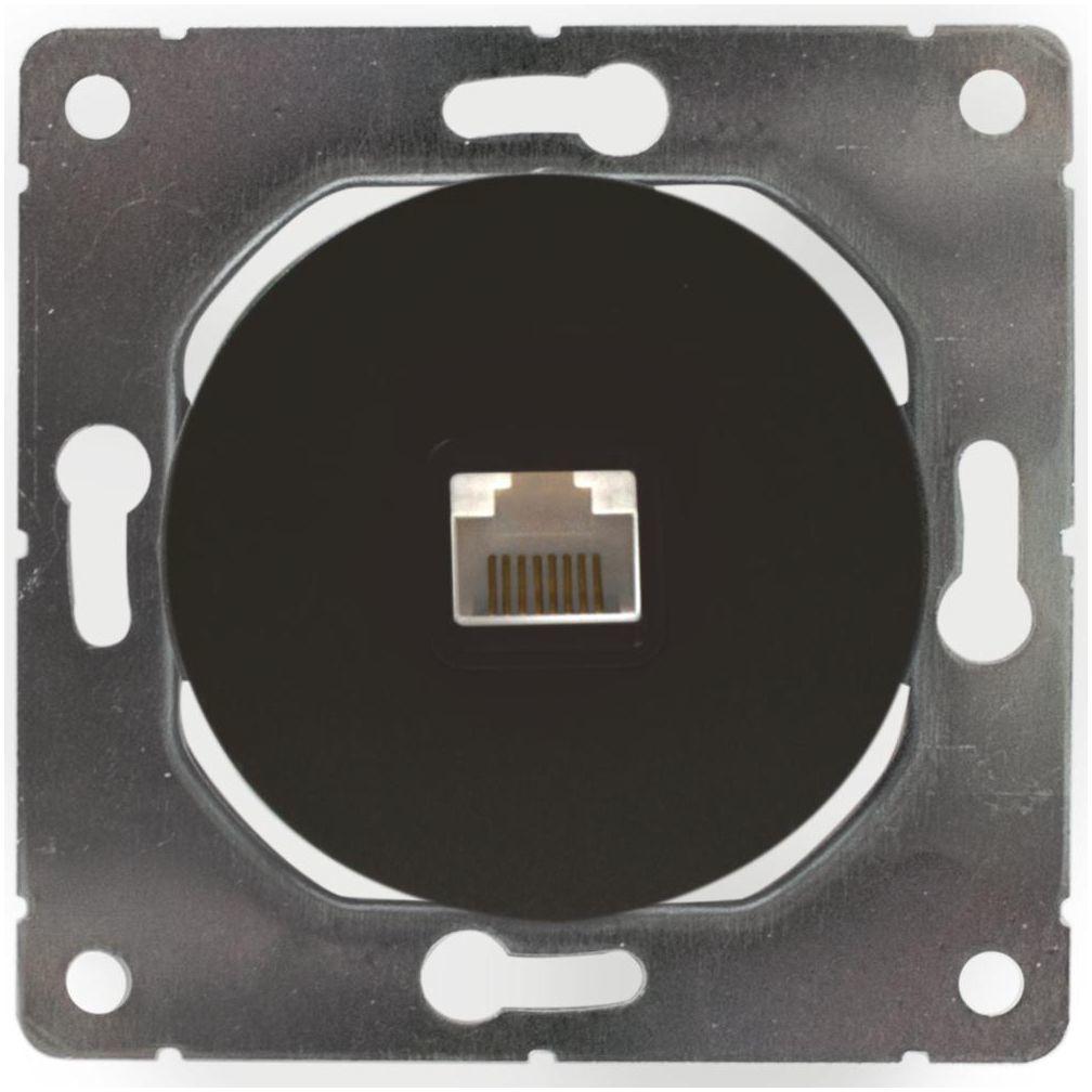 Gniazdo komputerowe SOUL czarny DMP SOLID