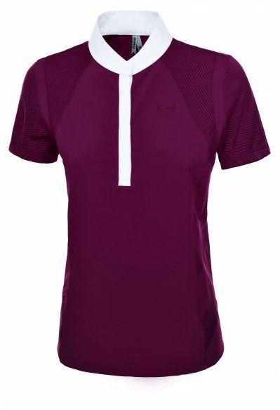 Koszulka konkursowa ANIJA damska - Pikeur - bordeaux