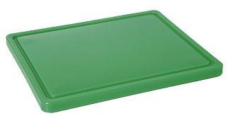 Deska z polietylenu zielona HACCP GN 1/1