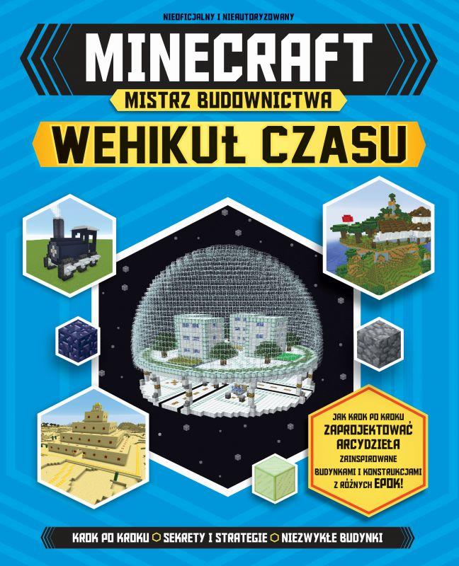 Minecraft Mistrz budownictwa Wehikuł czasu ZAKŁADKA DO KSIĄŻEK GRATIS DO KAŻDEGO ZAMÓWIENIA