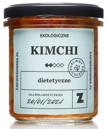 Kimchi dietetyczne bio 300 g - zakwasownia