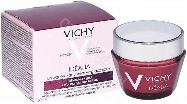 Vichy Idéalia wygładzający i rozjaśniający krem do cery normalnej i mieszanej 50 ml