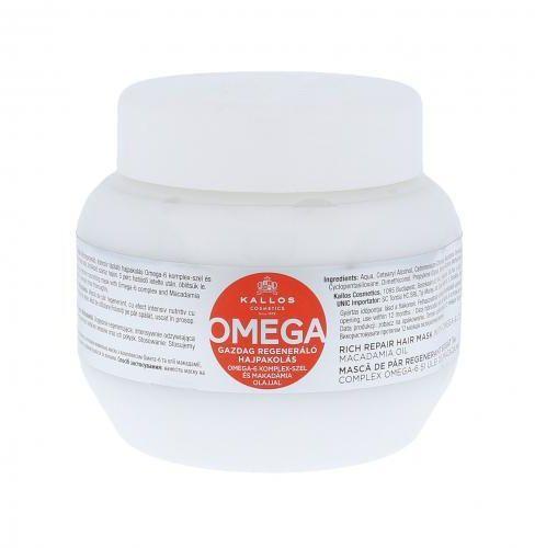 Kallos Cosmetics Omega maska do włosów 275 ml dla kobiet