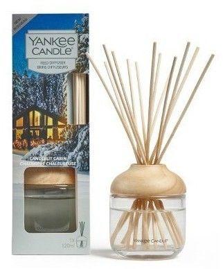 Yankee Candle Candlelit Cabin dyfuzor zapachowy z napełnieniem 120 ml