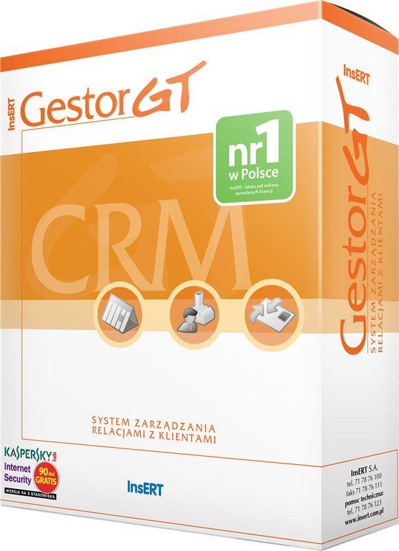 Insert Gestor GT (system zarządzania relacjami z klientami) Licencja na 3 stanowiska