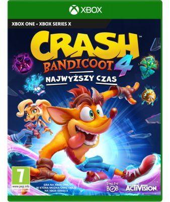 Gra Xbox One Crash Bandicoot 4: Najwyższy czas
