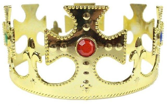 Złota korona króla 1 sztuka CRPL