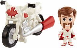 Mattel GCY50 - Disney Pixar Toy Story 4 Minis Duke Caboom i Motocykl Stunt, minifigurka z pojazdem, zabawka od 3 lat