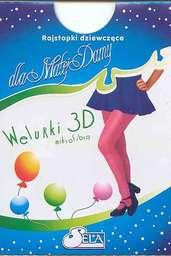 """Rajstopy niemowlęce """"Welurki 3D"""""""