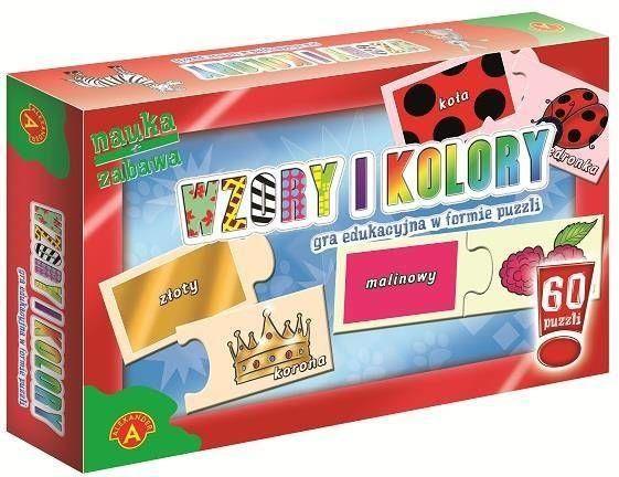 Puzzle - Wzory i kolory ALEX