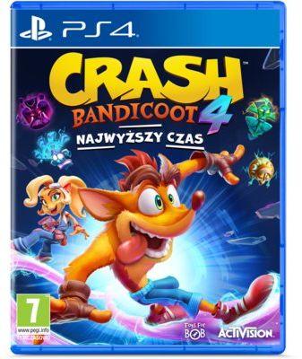 Gra PS4 Crash Bandicoot 4: Najwyższy czas