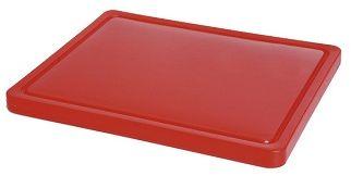 Deska z polietylenu czerwona HACCP GN 1/2