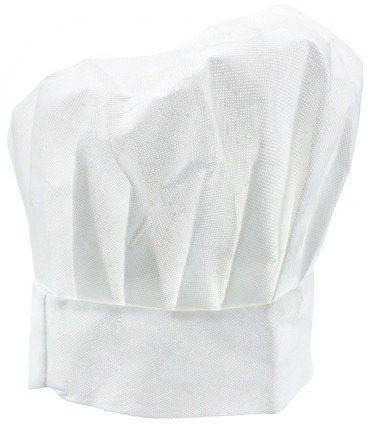 Czapka kucharza biała 1 sztuka LX-5054