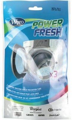 Wpro Środek czyszczący PowerFresh AFR301 do pralki tabletki 40g 3szt 484000008492