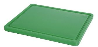 Deska z polietylenu zielona HACCP GN 1/2