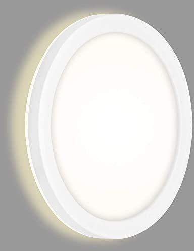 Briloner Leuchten 3008-016, kinkiety zewnętrzne białe