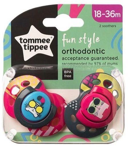 Smoczek uspokajający 18-36 m Fun Style Tommee Tippee