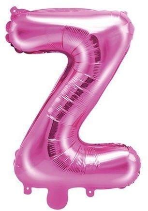 Balon foliowy Z ciemny różowy 35cm 1szt FB2M-Z-006