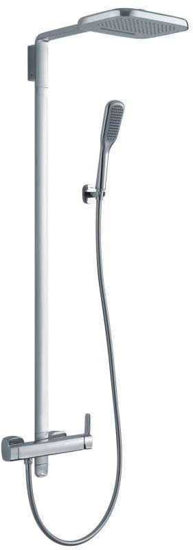 OMNIRES System prysznicowy natynkowy termostatyczny, 3 funkcyjny HUDSON HS4144/6