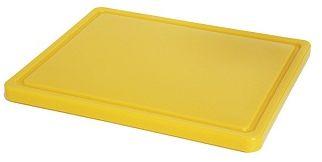 Deska z polietylenu żółty HACCP GN 1/2