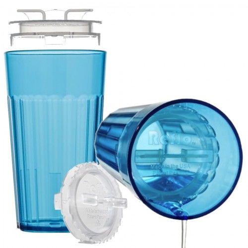 Kubek treningowy do nauki picia Smart Cup niebieski Reflo
