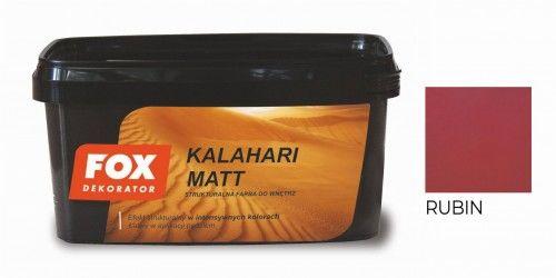 FOX KALAHARI MATT RUBIN kolor 0003 1L