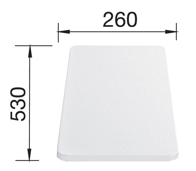Blanco Deska z tworzywa 530x260 mm