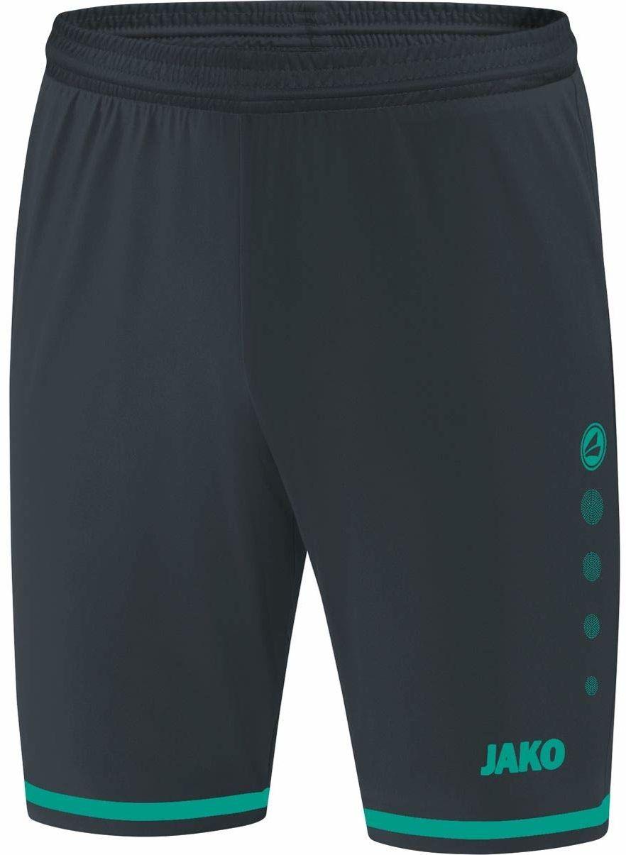 JAKO Striker 2.0 męskie spodnie sportowe szary antracytowy/turkusowy S
