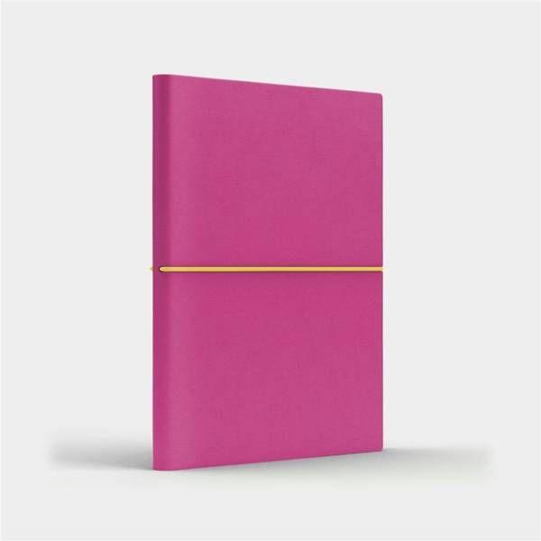 Notatnik B6 Fun S linia różowy/cytrynowy - Like U