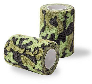 Elastyczny bandaż adhezyjny (samoprzylepny) Coban barwy moro 4,5 m x 10 cm