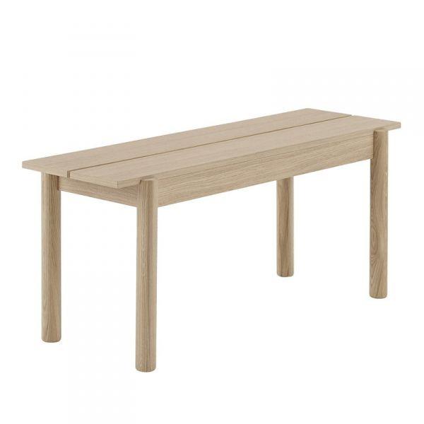 Muuto LINEAR Ławka Drewniana 110 cm Dębowa