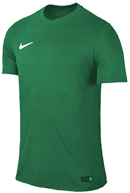 Nike Męska koszulka Dry Park Vii zielony zielony/biały (Pine Green/White) M