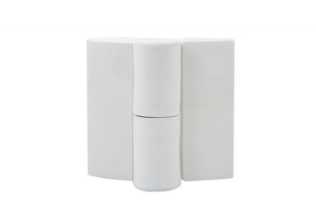 Zawias do kabin toaletowych biały prawy