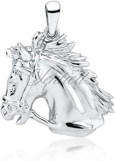 Srebrna zawieszka pr.925 koń / konik