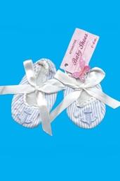 MOTYLKI BABY - bawełniane buciki niemow.